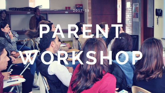 Parent Workshop November