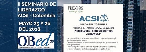 ACSI - OBED Seminar