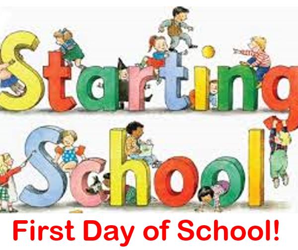 1st Day of School 2020