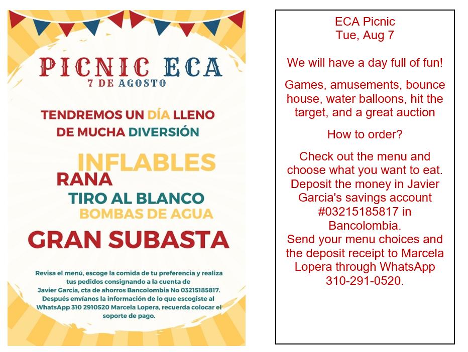 Picnic ECA 2018