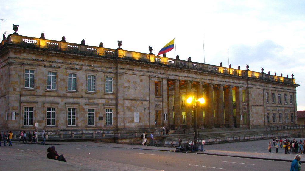 El Capitolio Nacional (Bogotá, Colombia)