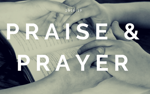 Praise and Prayer 2018