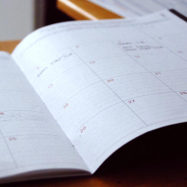 Year-End Celebration Schedule